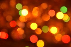 Free Orange And Red Bokeh. The Background With Boke. Abstract Texture. Color Circles. Royalty Free Stock Image - 103557066