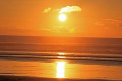 Free Orange And Yellow Sunset At Muriwai Beach Stock Photos - 160671943