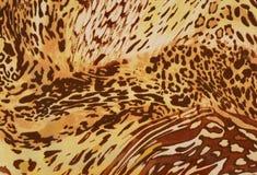 Orange animals skins. Stock Photos