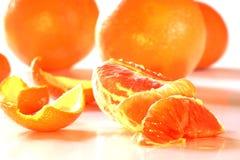 orange apelsiner skalade helt Royaltyfri Bild