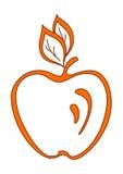 Orange apple Stock Photos