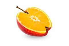 Orange apple Stock Images