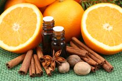 Orange aroma Royalty Free Stock Photos