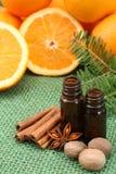 Orange aroma Royalty Free Stock Images