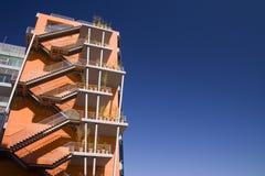 Orange Arquitecture Stock Photography