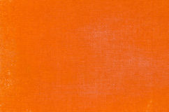 Orange artistic canvas painted background Royalty Free Stock Photos