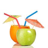 Orange as a drink Stock Photo