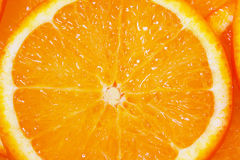 Orange as a texture Stock Image