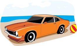 Orange Außenseiter Stockfoto