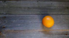 Orange auf den Brettern Stockbilder