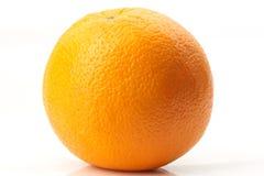Orange auf Weiß Stockfotos