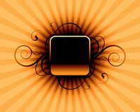 Orange Auszug Stockfotografie