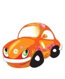 Orange Auto Stockfoto