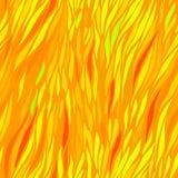 Orange autumn seamless stripes Royalty Free Stock Photography