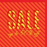 Orange autumn special sale Stock Photography