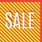 Orange autumn special sale Stock Image