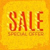 Orange autumn special sale Stock Photo