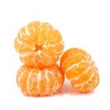 Orange avec le congé Photos libres de droits