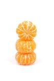 Orange avec le congé Photos stock