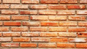 Brick surface Orange brick surface stock photos