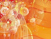 Orange background Royalty Free Stock Photos