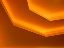 Orange Background. Ceiling Background stock illustration