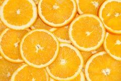 Orange background. Orange, cut into pieces used as background Stock Image