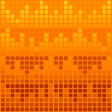 Orange background. Orange decorative background with mosaic Stock Image