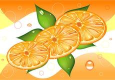 orange background Stock Photography