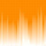 Orange Background. Stylized orange background with a grid royalty free illustration