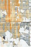 Orange Background. Muted crackled white paint background with designs of orange on gray Stock Image