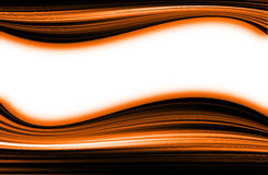 Orange background. Abstract orange  color  background with copy space for template Stock Photography