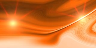 Orange background with bright gradient and blur effects royalty free stock photo