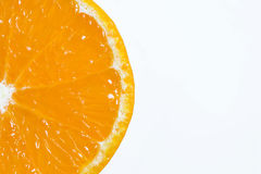 Orange background. Background close up slices of juicy ripe orange royalty free stock photos