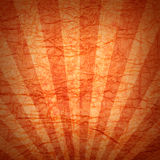 Orange background - crumpled paper. Orange background - old crumpled paper Royalty Free Stock Photography