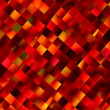 Orange background. Decoration square pattern. Color image. Abstract art. Colour backdrop. Modern computer display backdrops. Beautiful texture effect. Colored Stock Photo