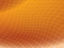 Orange background with distorted grid - vector Stock Photo