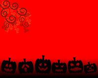 Orange Background for Halloween day Stock Images