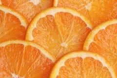 Orange background. Healthy food fruit Stock Images