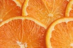 Orange background. Healthy food fruit Stock Photo