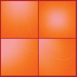 Orange background. Illustration with abstract orange background. Graphic Design Useful For Your Design. Wave background texture design on border vector illustration
