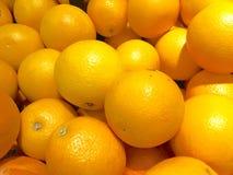 Orange background. Multiple fresh orange as background Stock Images