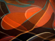 Orange background texture and lines Stock Photos