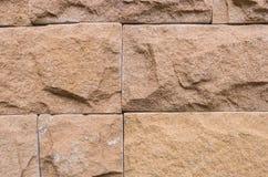 Orange Backsteinmauer für Tapete Oberfläche, Beschaffenheit Lizenzfreies Stockbild