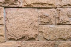 Orange Backsteinmauer für Tapete Oberfläche, Beschaffenheit Stockfotografie