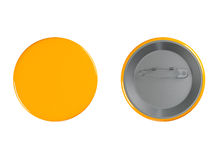 Orange Badges Royalty Free Stock Images