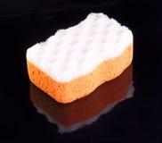 Orange badningsvamp Fotografering för Bildbyråer