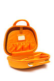 Orange bag Royalty Free Stock Photos