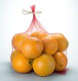 Orange bag royalty free stock images