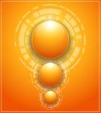Orange bakgrund Arkivfoton